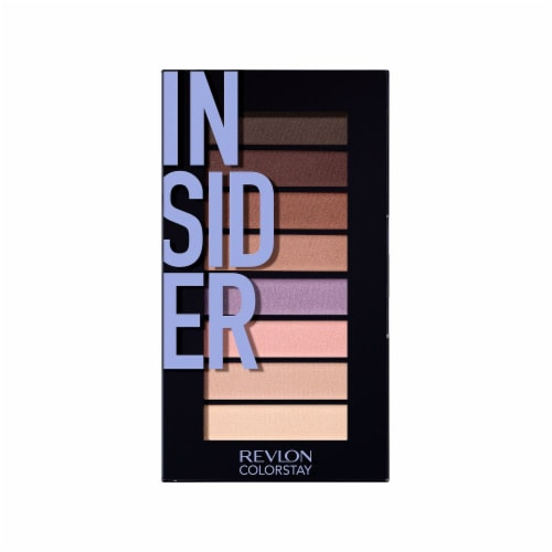 Revlon ColorStay Looks Book Insider Eyeshadow Palette Perspective: front