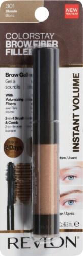 Revlon ColorStay Blonde Fiber Filler Brow Gel Perspective: front