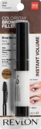 Revlon ColorStay Clear Fiber Filler Brow Gel Perspective: front