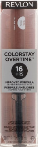 Revlon ColorStay Overtime Taupe Time Lipcolor Perspective: front