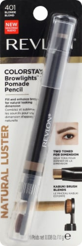 Revlon ColorStay Princess 401 Card Blonde Brow Crayon Perspective: front