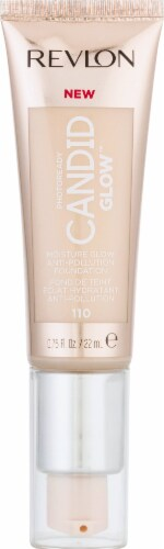 Revlon Photo Ready Candid Moist Glow 110 Porcelain Foundation Perspective: front