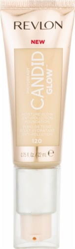 Revlon Photo Ready Candid Moist Glow 120 Buff Foundation Perspective: front