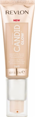 Revlon Photo Ready Candid Glow 240 Natural Beige Foundation Perspective: front