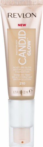 Revlon Photo Ready Candid Glow 210 Natural Ochre Foundation Perspective: front