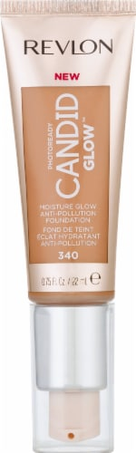 Revlon Photo Ready Candid Glow 340 True Beige Foundation Perspective: front