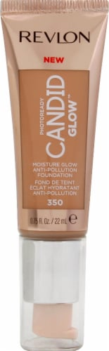 Revlon Photo Ready Candid Glow 350 Natural Tan Foundation Perspective: front