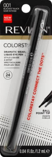 Revlon ColorStay 001 Blackest Black Liquid Eye Pen Perspective: front