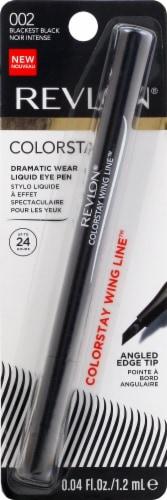 Revlon ColorStay Dramatic Wear Blackest Black Liquid Eye Pen Perspective: front