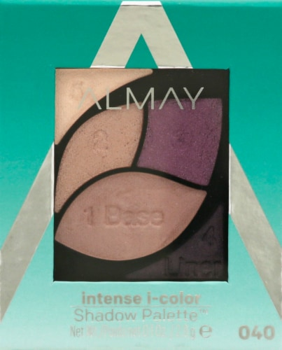Almay Intense i-Color 040 Green Eyes Shadow Palette Perspective: front
