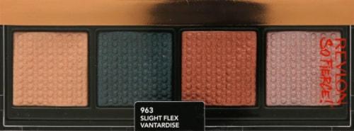 Revlon Prismatic Quad Slight Flex Eyeshadow Palette Perspective: front