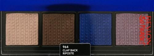 Revlon Prismatic Quad 964 Clap Back Eyeshadow Palette Perspective: front