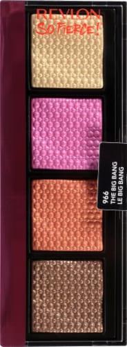 Revlon Prismatic Quad The Big Bang Eyeshadow Palette Perspective: front