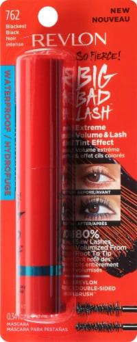 Revlon So Fierce Big Bad Lash Waterproof 762 Blackest Black Mascara Perspective: front