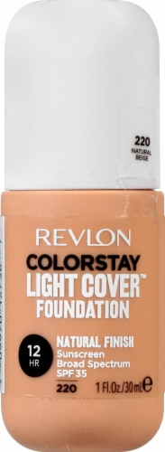 Revlon ColorStay Natural Beige Light Cover Foundation SPF 35 Perspective: front