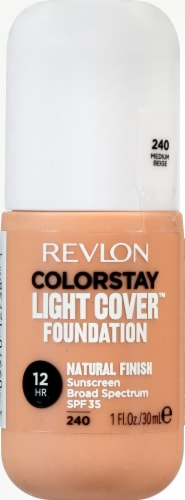 Revlon ColorStay Medium Beige Light Cover Foundation SPF 35 Perspective: front