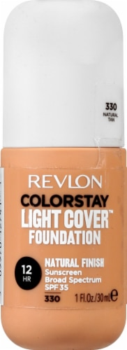 Revlon ColorStay Natural Tan Light Cover Foundation SPF 35 Perspective: front