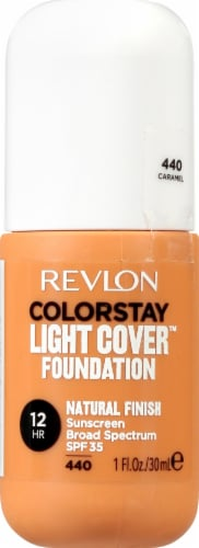 Revlon ColorStay Caramel Light Cover Foundation SPF 35 Perspective: front