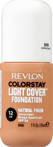 Revlon ColorStay Cappucino Light Coverage Foundation Perspective: front