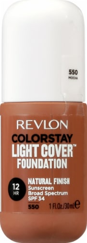 Revlon ColorStay Mocha Light Cover Foundation SPF 35 Perspective: front