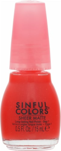 Sinful Colors Ruby Tutu Nail Polish Perspective: front