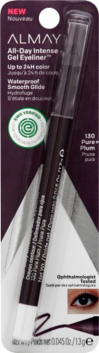 Almay All-Day Intense 130 Pure Plum Gel Eyeliner Perspective: front