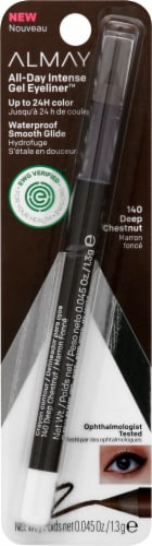 Almay All-Day Intense 140 Deep Chesnut Gel Eyeliner Perspective: front