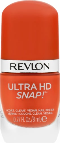 Revlon Ultra HD Snap! 007 Hot Stuff Nail Polish Perspective: front