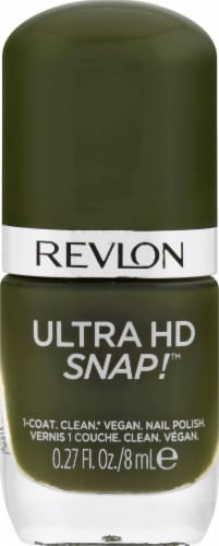 Revlon Ultra HD Snap! 022 Commander in Chief Nail Polish Perspective: front
