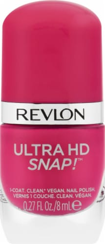 Revlon Ultra HD Snap! 028 Rule The World Nail Polish Perspective: front