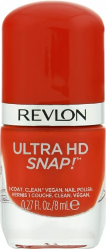 Revlon Ultra HD Snap! 031 She's On Fire Nail Polish Perspective: front