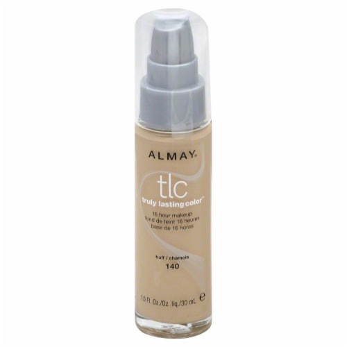 Almay Truly Lasting Color 140 Buff Makeup Perspective: front