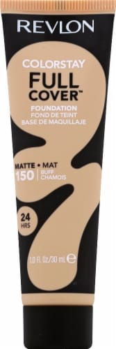 Revlon ColorStay Full Coverage 150 Buff Matte Foundation Perspective: front