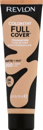 Revlon ColorStay 200 Nude Full Coverage Foundation Perspective: front