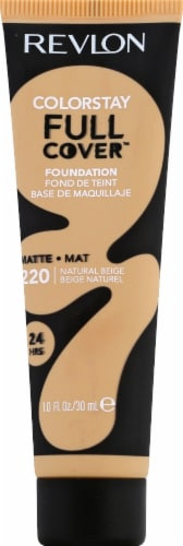 Revlon ColorStay 220 Natural Beige Full Coverage Foundation Perspective: front