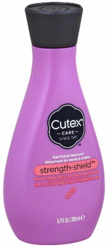 Cutex Care Strength-Shield Nail Polish Remover Perspective: front