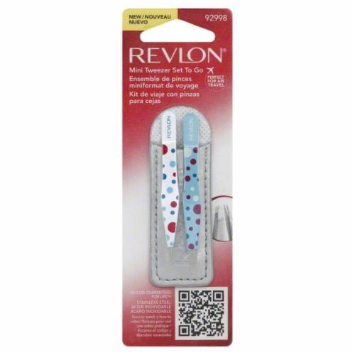 Revlon Mini Tweezer Set To Go Perspective: front