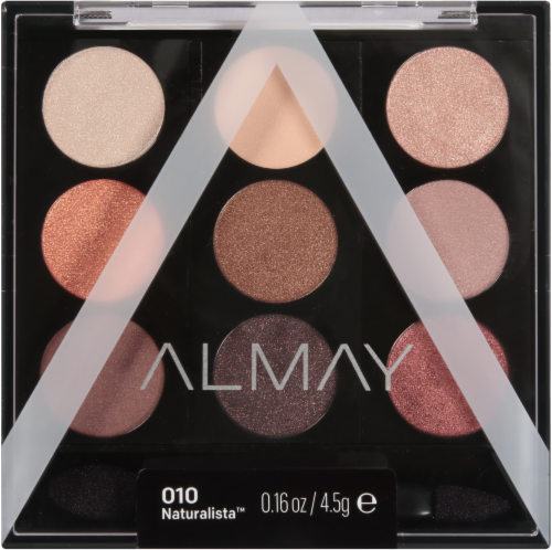 Almay 010 Naturalista Eyeshadow Palette Perspective: front