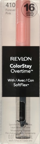 Revlon Colorstay Overtime 410 Forever Pink Lipcolor Perspective: front