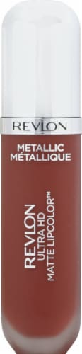 Revlon Metallic Ultra HD Shine Metallic Matte Lipcolor Perspective: front