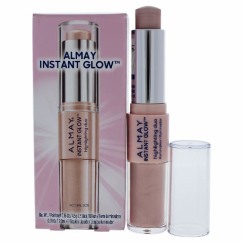 Almay Instant Glow Pop It On Soft Highlighting Duo Perspective: front