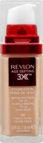 Revlon Age Defying 3X Fresh Ivory Foundation Perspective: front