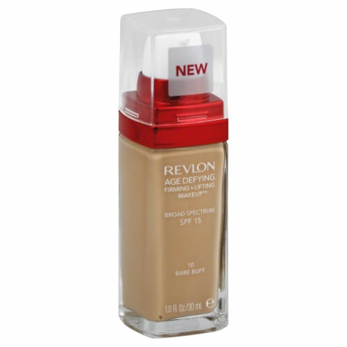 Revlon Age Defying 10 Bare Buff Firming & Lifting Makeup Perspective: front