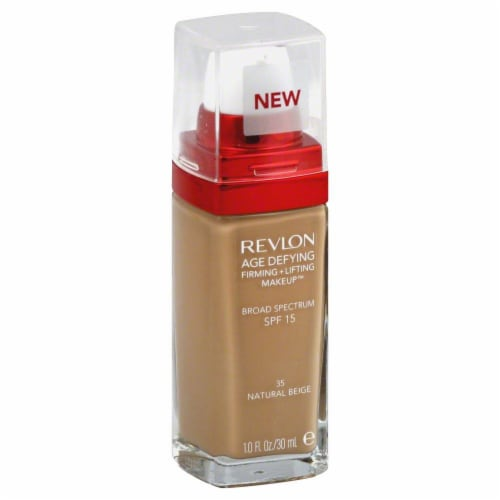 Revlon Age Defying 35 Natural Beige Firming & Lifting Makeup Perspective: front