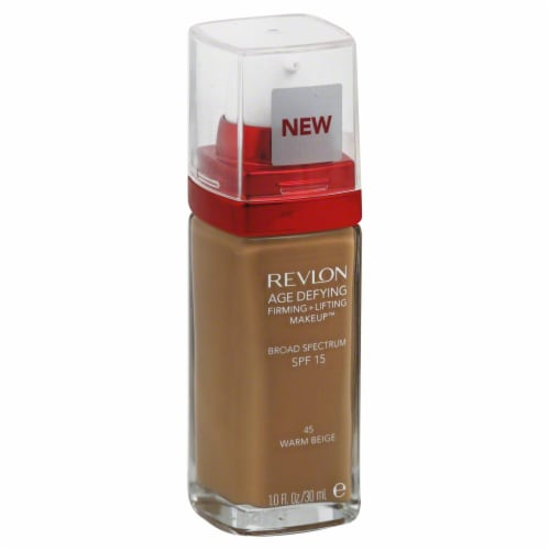 Revlon Age Defying 45 Warm Beige Firming & Lifting Makeup Perspective: front