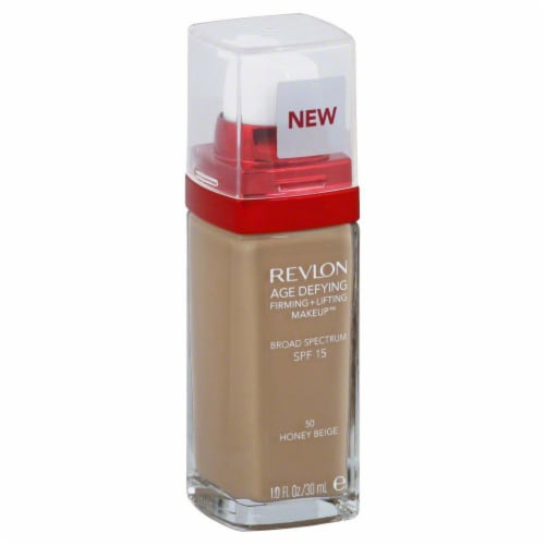 Revlon Age Defying 50 Honey Beige Firming & Lifting Makeup Perspective: front