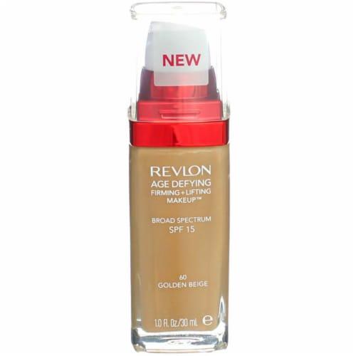 Revlon 60 Golden Beige Age Defying Firming + Lifting Makeup SPF 15 Perspective: front