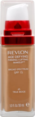 Revlon Age Defying 65 True Beige Lifting & Firming Makeup Perspective: front