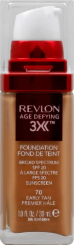 Revlon Age Defying 3X Early Tan Foundation Perspective: front