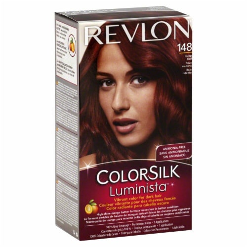 Revlon Color Silk Luminista Deep Red 148 Hair Color Perspective: front